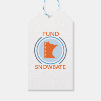fundsnowbate Circle Logo Pack Of Gift Tags