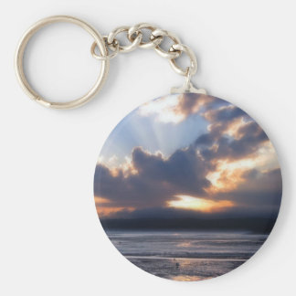 Fundy Sunset Keychain