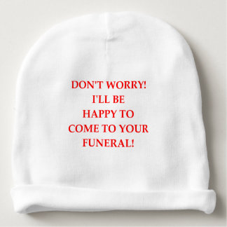 FUNERAL BABY BEANIE