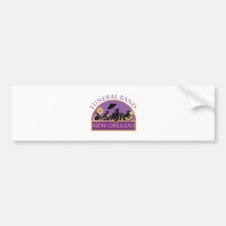 Funeral Band Bumper Sticker