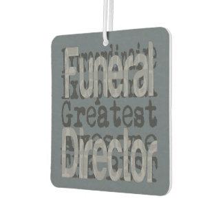 Funeral Director Extraordinaire Car Air Freshener