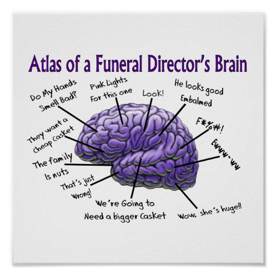 Funeral Director Mortician Funny Poster Zazzle Ca