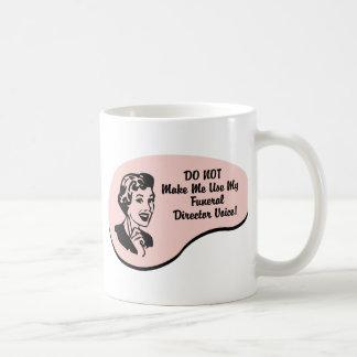 Funeral Director Voice Coffee Mug