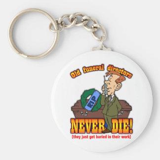 Funeral Directors Keychain
