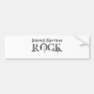 Funeral Directors Rock Bumper Stickers