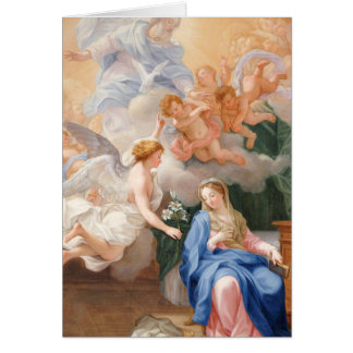 Funeral Holy Card | Annunciation