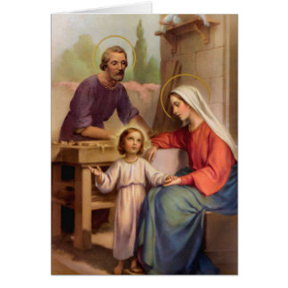 Funeral Holy Card | Holy Family Roman Catholic