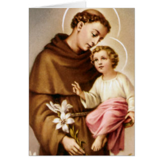 Funeral Holy Card | St Anthony 4