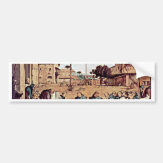 Funeral Of St Jerome By Carpaccio Vittore Bumper Stickers