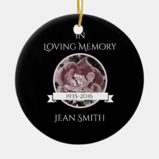 Funeral or Memorial Ornament Keepsake