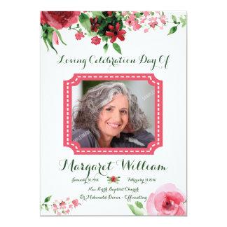 Funeral Program Card