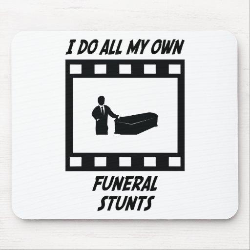 Funeral Stunts Mouse Mat