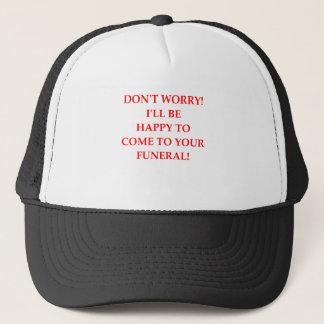 FUNERAL TRUCKER HAT