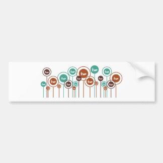 Funerals Daisies Bumper Stickers