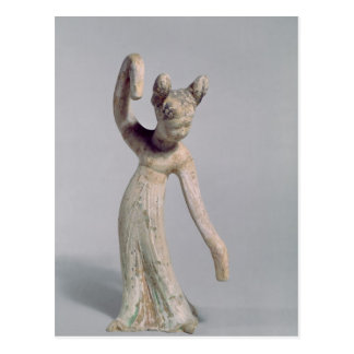Funerary statue of a dancer, Tang Dynasty Postcard