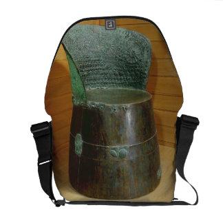 Funerary throne, Villanovan period, 1st half 7th c Messenger Bag