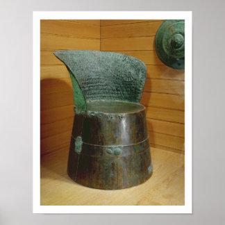 Funerary throne, Villanovan period, 1st half 7th c Poster