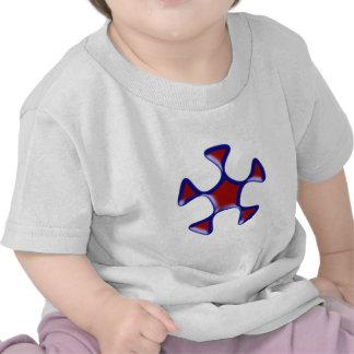 Fünfeck pentagon t shirts