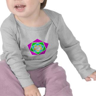 Fünfecke pentagons t shirt