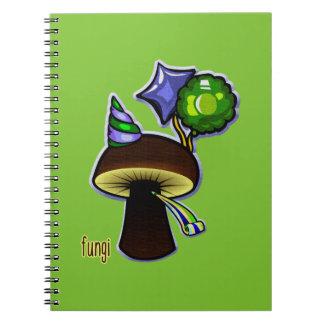 Fungi - Bad Pun Cartoon Notebooks