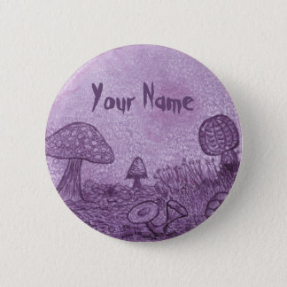 Fungi Meadow Name Button