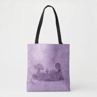 Fungi Meadow Tote Bag