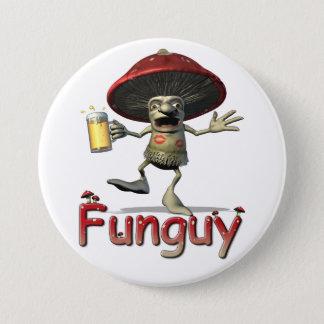 Funguy Mushroom Button