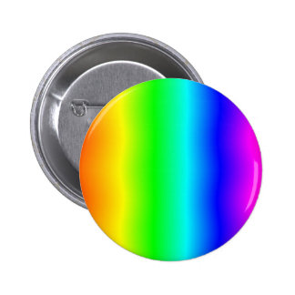 Funhouse Rainbow #2 2 Inch Round Button