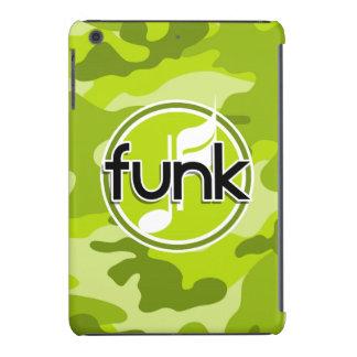 Funk; bright green camo, camouflage iPad mini retina case