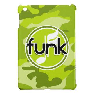 Funk bright green camo camouflage iPad mini case