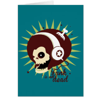 Funk not dead card