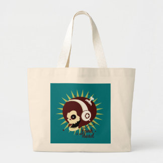 Funk not dead large tote bag
