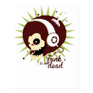 Funk not dead postcard