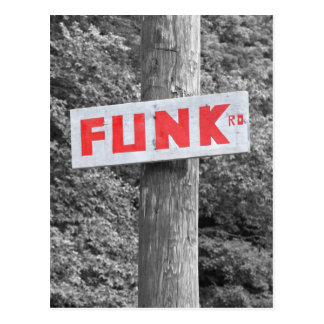 Funk Road Postcard