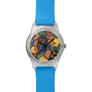 Funky Abstract Art Watch
