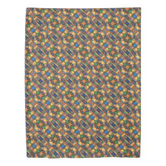 Funky Abstract Pattern Duvet Cover