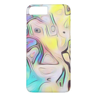 Funky abstract psychedelic iPhone 7 plus case
