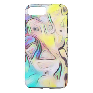 Funky abstract psychedelic iPhone 8 plus/7 plus case