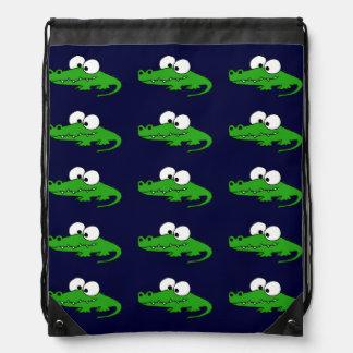 Funky Alligator backpack