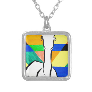Funky Alpaca Silver Plated Necklace