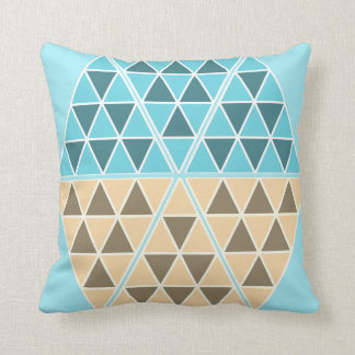 Funky and Cool Triangles / Pyramids Throw Pillow