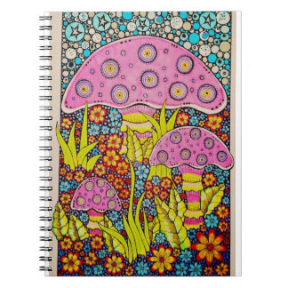 funky and fun in the garden notebooks