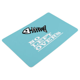 Funky and Funny No Leftovers Floor Mat
