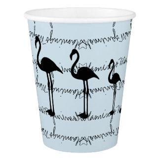 Funky and stylish Flamingo Magic Etc Paper Cup