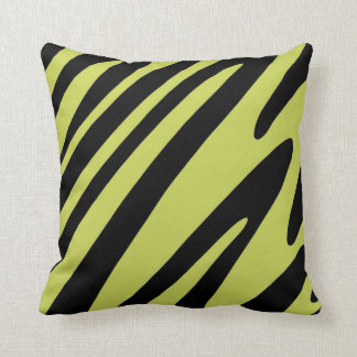 Funky Animal Print Throw Pillow