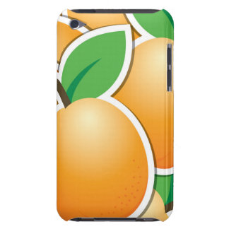 Funky apricot iPod touch Case-Mate case