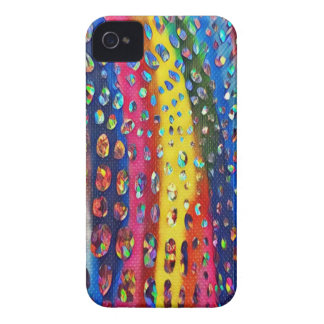 Funky Artistic LGBTQ Rainbow Snake Skin Pattern iPhone 4 Case-Mate Case