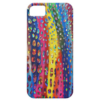 Funky Artistic LGBTQ Rainbow Snake Skin Pattern iPhone 5 Covers