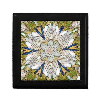Funky Artistic Star in Daisy Shaped Abstract Gift Box