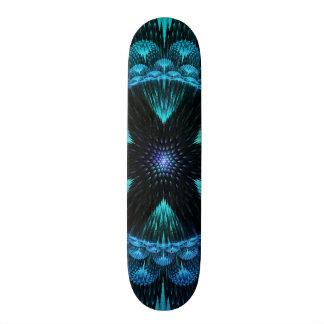 Funky Awesome Decorative Flower Star Burst Fractal Skateboard Decks